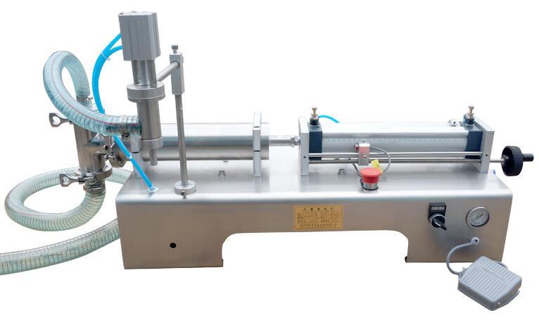 bsb气动小型定量灌装机不锈钢机身